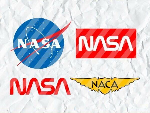 NASA Logo svg clipart png vector cricut