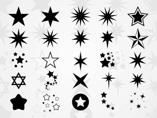 Star SVG Bundle Vectorency Star SVG Bundle