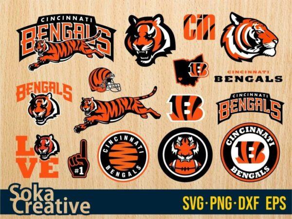 The Cincinnati Bengals SVG Cut File Cricut Bundle Vectorency The Cincinnati Bengals SVG Cut File Cricut Bundle