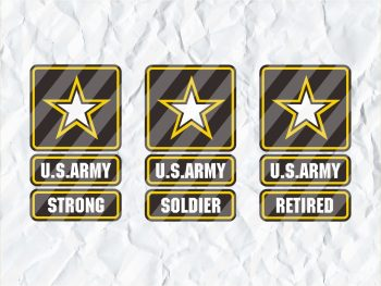 US Army Soldier Strong Retired svg cricut symbol logo