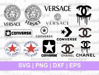 fashion logo chanel svg cut file