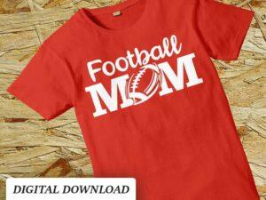 football mom svg cut file cricut