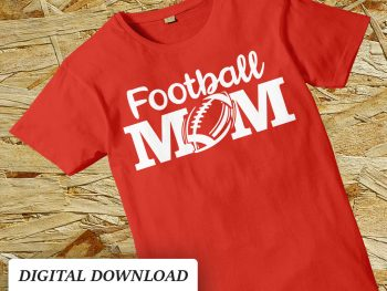 football mom svg cut file cricut