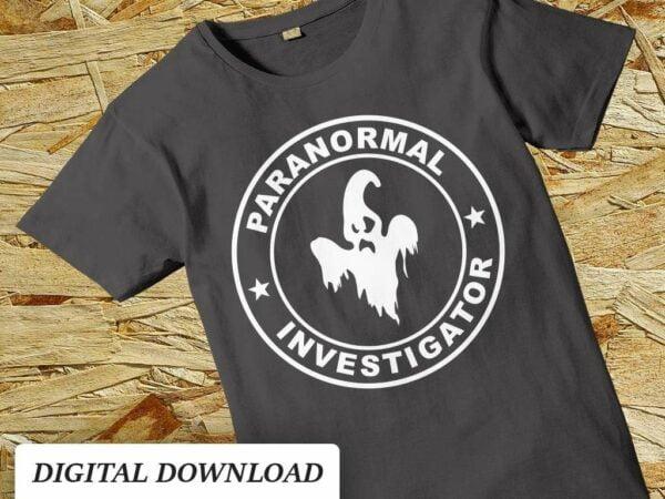 paranormal investigator svg cut file