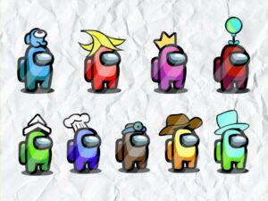 Cricut Character Among Us SVG Bundle