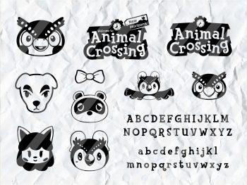 Animal Crossing SVG Bundle Cut File