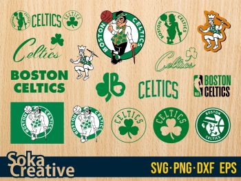 NBA Boston Celtics SVG Cricut