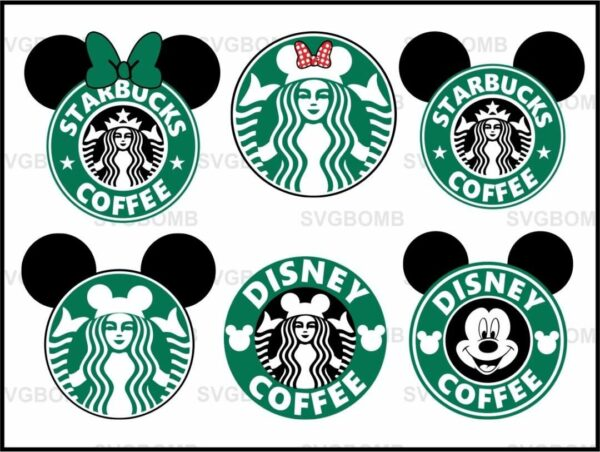 Disney Starbuck SVG Bundle Cut File
