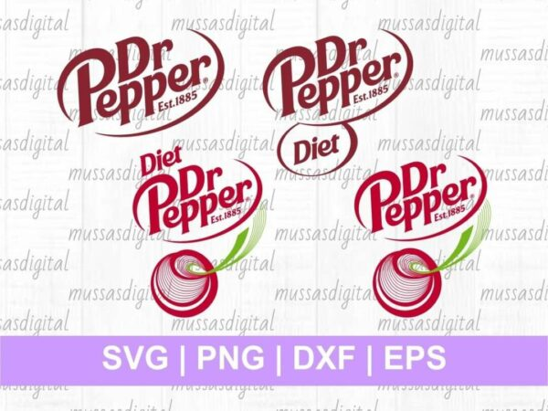 Dr Pepper Logo SVG