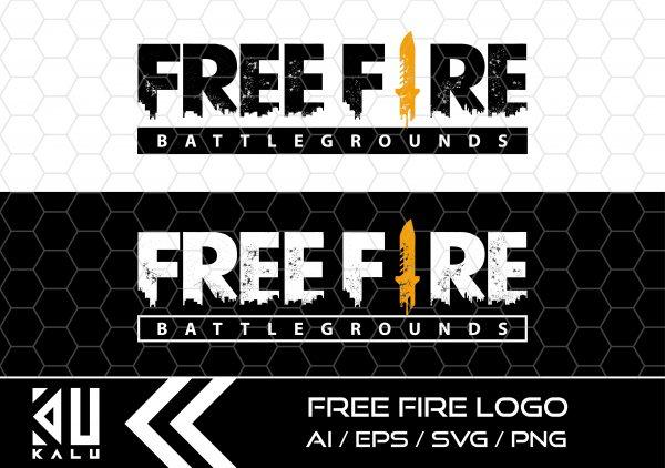 FREE FIRE LOGO Mesa de trabajo 1 Vectorency Free Fire Logo SVG