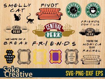 Friends SVG Bundle