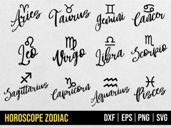 Horoscope Zodiac SVG