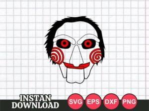 Jigsaw face SVG