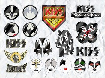 Kiss Band SVG Bundle