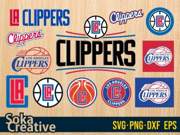 Los Angeles Clippers SVG