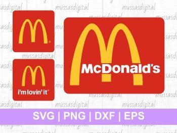 McDonald's logos SVG Bundle