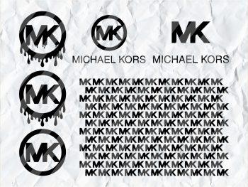 Michael Kors Logo Blood Drip SVG Bundle Cut File