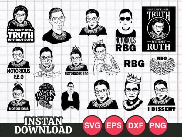 RBG svg bundle