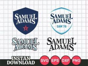 Sam Adams Beer SVG Logo