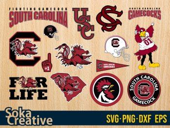 Logo South Carolina Gamecocks SVG Vector