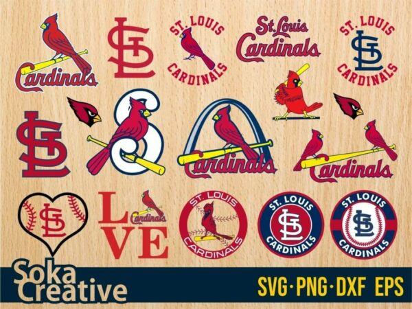 St Louis Cardinals SVG Cricut