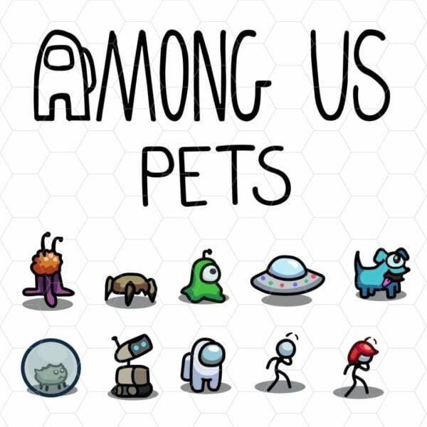 among us pets Mesa de trabajo 1 Vectorency Among Us Vector - Pets + Logo