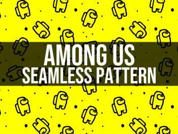 among us seamless pattern