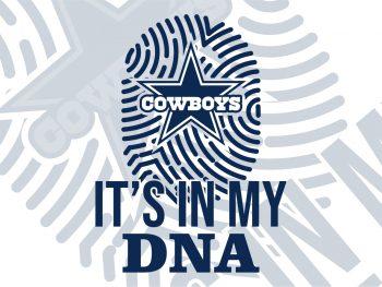 cowboys DNA SVG Cut File