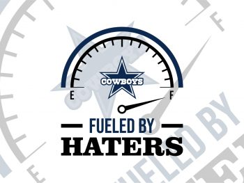dallas cowboys fueled by haters svg cut file cricut
