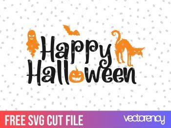 free svg happy halloween svg