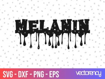 melanin drip svg
