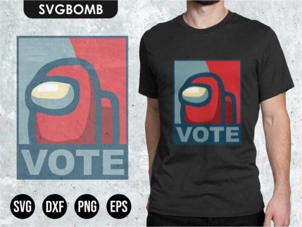vote among us svg