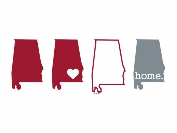Alabama SVG Vector File