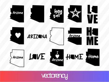 Arizona SVG Cricut Vector File