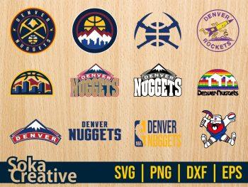Denver Nuggets SVG Bundle Cut file