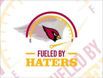 Fueled By Haters Arizona Cardinals svg cut file