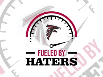 Fueled By Haters Atlanta Falcons SVG Cricut File Vector