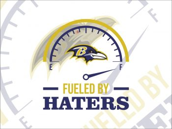 Fueled By Haters Baltimore Ravens SVG Cricut File