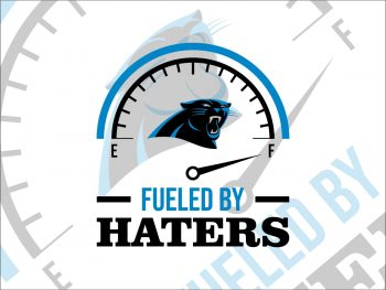 Fueled By Haters Carolina Panthers SVG Cricut File