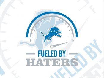 Fueled By Haters Detroit Lions SVG cricut file