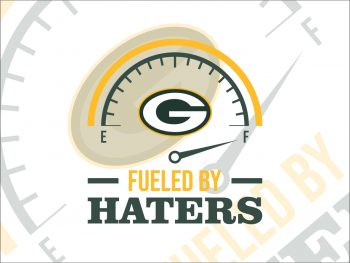 Fueled By Haters Green Bay Packers SVG Cricut File