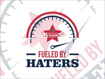 Fueled By Haters Houston Texans SVG Cricut File