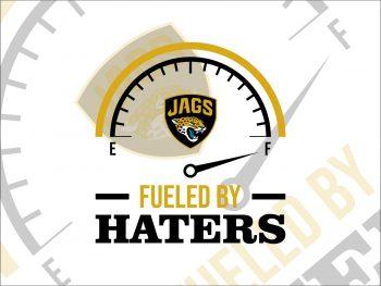 Fueled By Haters Jacksonville Jaguars SVG Cricut File