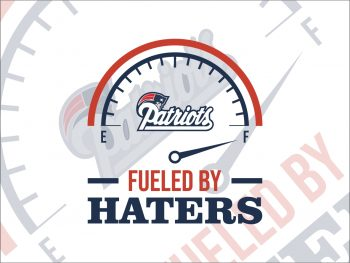 Fueled By Haters New England Patriots SVG Cricut File