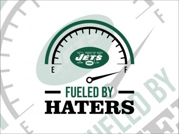Fueled By Haters New York Jets SVG Cricut Vector File