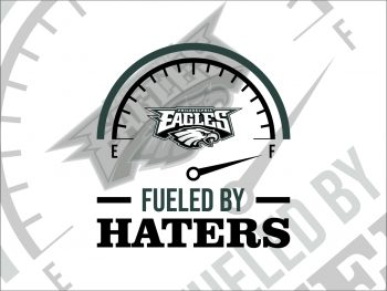 Fueled By Haters Philadelphia Eagles SVG Cricut File