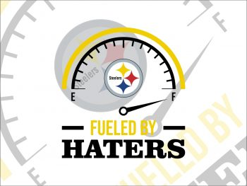 Fueled By Haters Pittsburgh Steelers SVG Cricut File