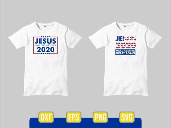 Jesus 2020 SVG Cut File