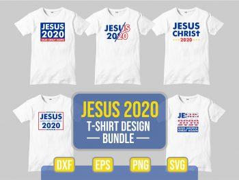 Jesus 2020 SVG Design