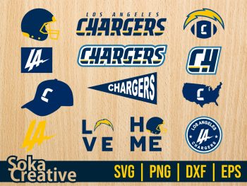 Los Angeles Chargers svg